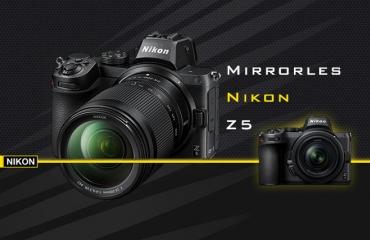 Nikon Z5 جدیدترین دوربین فول فریم بدون آینه