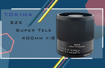 SZX Super Tele 400mm F8 محصول جدید توکینا